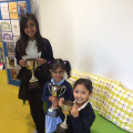 Attendance trophies for week beginning 27th June